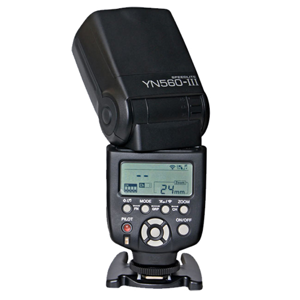 New Yongnuo YN560III Wireless Flash Cross Compatible