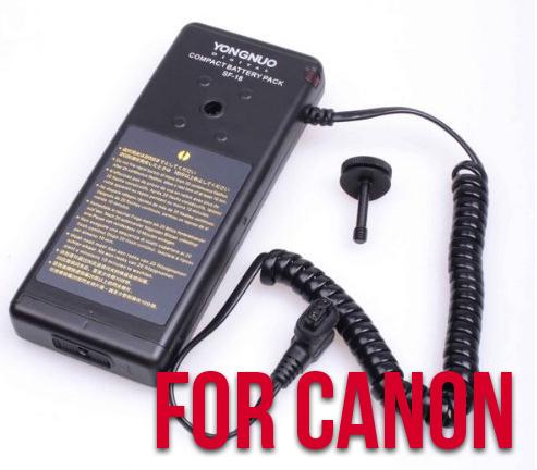 Yongnuo Battery Pack SF-18 (For Canon DSLRs)