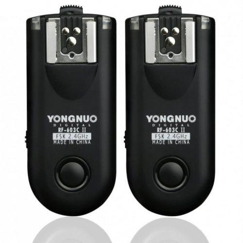 Yongnuo RF603 II Flash trigger Shutter release Remote Control