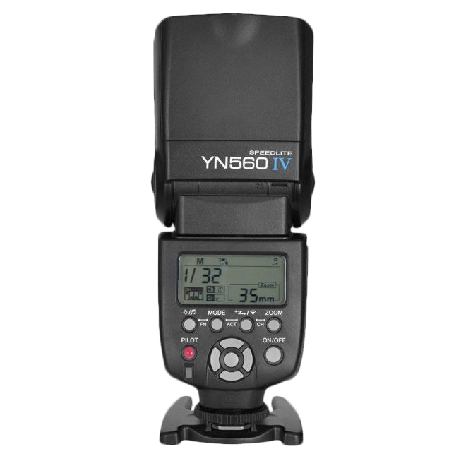 Yongnuo Flash YN560IV Cross Compatible 2.4GHz for Nikon Canon Pentax Olympus Camera